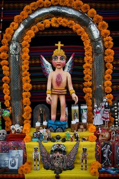 Dia de Los Muertos, altar by amircheff, via Flickr