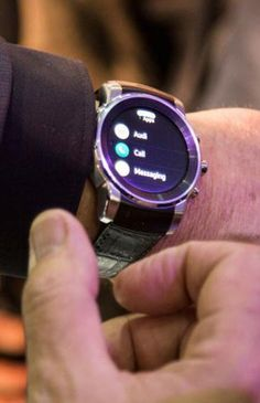 """The Audi smartwatch is a kind of """"mobile key."""""""
