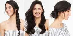 5 Gorgeous Hairstyles For When You're Out of Ideas: Sometimes the hardest thing about styling your hair isn't creating the actual look, it's deciding what the heck to do! Next time you find yourself staring blankly into the mirror, try one of these compliment-inducing options. Problem solved!