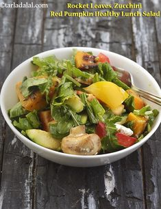 62 Healthy Salads with healthy dressing, Tarla Dalal Salad Recipes Healthy Lunch, Vegetarian Recipes, Healthy Soups, Keto Recipes, Healthy Snacks, Healthy Eating, Cooking Recipes, Indian Salads, Low Calorie Salad