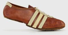 cd7c8a55 a history of adidas: adi dassler's first track and field shoes - designboom