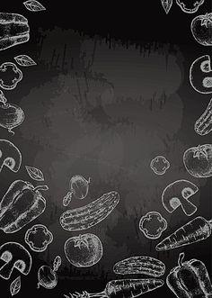 Food Graphic Design, Food Poster Design, Food Design, Web Design, Food Background Wallpapers, Food Backgrounds, Wattpad Background, Menu Card Design, Chalkboard Lettering