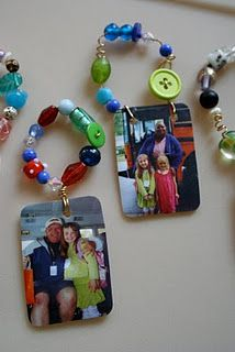 Ink Jet printable shrinky dink film. Maybe key chains for fathers day?