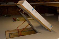 37 Best Dachbodentreppe Images Attic Spaces Attic Doors Garage Attic