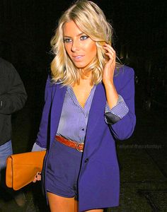 mollie king in blue blue blue King Fashion, Teen Guy Fashion, Fashion Outfits, Women's Fashion, Celebrity Style Inspiration, Celeb Style, Mollie King, Love Her Style, Fashion Stylist