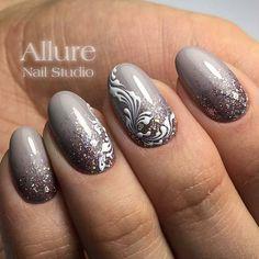 "Nail art design   Маникюр. Дизайн ногтей. МК (@ru_nails_master) on Instagram: ""@allure_nail_studio г. Магнитогорск Нравится работа? Ставь #ru_nails_master #дизайнногтей…"""