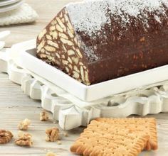 Mosaiko meli 1 Cooking Time, Cooking Recipes, Chocolate Log, Fridge Cake, Biscuit Cake, Greek Recipes, Candy Recipes, Tiramisu, Sweet Tooth