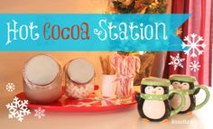 Hot Cocoa Station