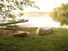 One early summer morning on the shore of Lake Wallenpaupack, PA
