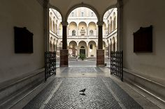 Palazzo della Cancelleria, Rome, Italy (by Adrien Zograffi)