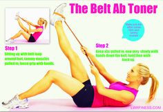 """Grab a belt and start toning those abs!  (but remember to get flat abs and lose that muffin top, it""""s diet, cardio and toning) https://itunes.apple.com/gb/app/lose-your-muffin-top-in-28/id407489842?mt=8"""