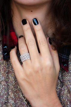 Wide Braided Diamond Anniversary  Band, 14K Gold Ring, 1.1 CT Pave Wedding Band, Wide Diamond Band, Unique Diamond Wedding Ring, Woven Ring #jewelrylover