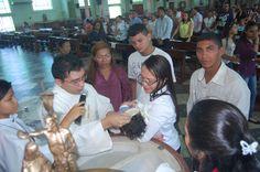 Batismo na Igreja de São José Operario em 26 de Maio de 2013