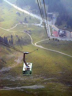 Luftseilbahn Schwägalp–Säntis, Ondanks mijn hoogtevrees heb ik toch genoten...