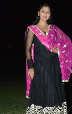 Beautiful Gujarati Girl Monal Gajjar Photos In Black Dress