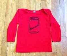 Minneapolis Jar Little Tee by mplsmomma on Etsy