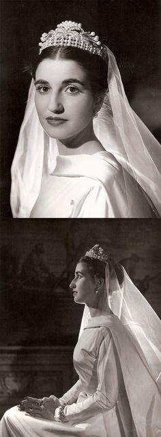 María del Carmen Franco y Polo, 1st Duchess of Franco + Cristóbal Martínez-Bordiú, 10th Marquis of Villaverde.