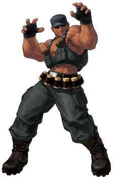 Clark Still from The King of Fighters XII