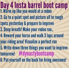Day Four: Insta Barrel Bootcamp - Fallon Taylor Tips