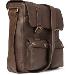 LEATHER Picture Bags | Belstaff Leather Messenger Bag | Men's bags