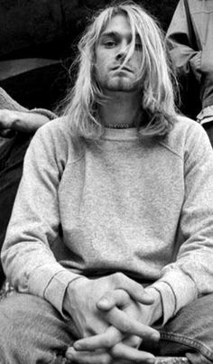Image result for kurt cobain 1980s