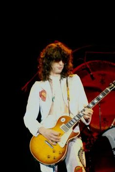 Jimmy Page - The Forum, Inglewood, Californa, June 23, 1977.