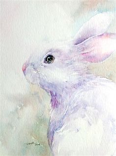 "Daily Paintworks - ""Purple Mist"" - Original Fine Art for Sale - © Arti Chauhan"