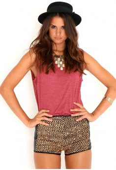 Rosalva Gold Sequin Hotpants-shorts-missguided