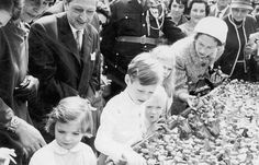 Prince Jean and Princess Margaretha of Luxembourg -