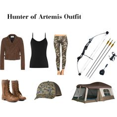 Hunter of Artemis Outfit. Make the jeans boot cut and I'm all in.