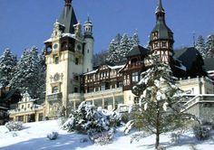 Castillo de Peles en Sinaia Rumania