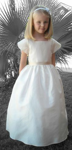 02272f363 RoseBud 5114 Flower Girl Dress. #flowergirls #wedding #bridal #girlsdress  #rosebud