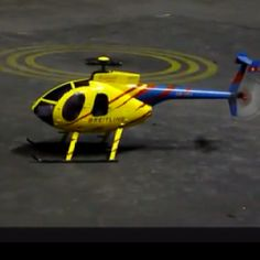 Scale RC Helicopter.