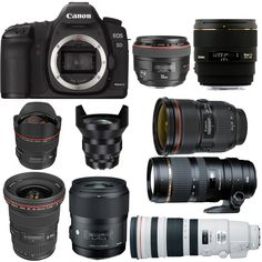 The Canon EOS 5D Mark II is one of the best full frame DSLR released in 2008. 5D Mark II was replaced by 5D Mark III in 2012, but there are still a lot of 5D Mark II users in the world today. Today, we are showing you top rated Canon EOS 5D Mark II lenses, tested by DxOMark.    50mm Standard