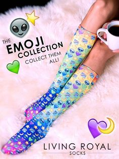 Start expressing yourself from head to toe. Check out our collections of the coolest socks on planet earth