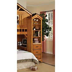 @Overstock.com - Tree House Rustic Oak Finish Book Shelf Cabinet  - Illuminate your home in style with this brilliant cabinet. This furniture has Pine Wood construction to be an attractive piece in your home.  http://www.overstock.com/Home-Garden/Tree-House-Rustic-Oak-Finish-Book-Shelf-Cabinet/6796969/product.html?CID=214117 $446.99
