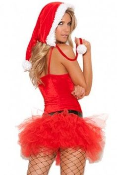 Sexy Santa Costume Small S Women Adult Cosplay Halloween Christmas Red Dress Hat Red Christmas Dress, Christmas Costumes, Halloween Christmas, Christmas Lingerie, Xmas, Santa Costume, Costume Hats, Red Tutu, Dress Hats
