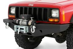 Off road parts - This is one vehicle winch bumper you don't want to bump into, but may like to have as your buddy when you get stuck. www.couponsmatter.com