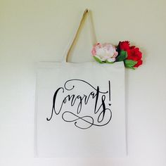 Congrats Gift Bag. Perfect for graduation gifts this year!