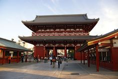 Sensoji Buddhist Temple located in Asakusa, Tokyo. Japan Travel Guide, Tokyo Travel, Asia Travel, Tokyo Trip, Nepal, Laos, Places To Travel, Places To Go, Vietnam