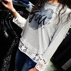 coming soon on www. Jean Outfits, Jeans, Lace, Tops, Women, Fashion, Denim Outfits, Moda, Fashion Styles