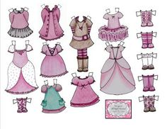 Instant Download Printable Paper Doll Sweet Wholesome by SBGstudio