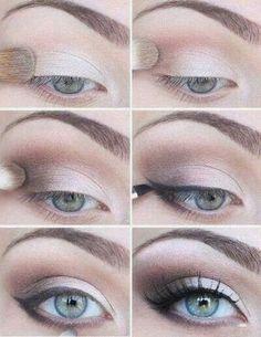 Wedding makeup Idea. Very brightening for the ...   My Romantic Garde…