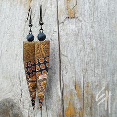 Polymer clay jewellery - earrings