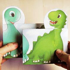 Hattifant's Peekaboo Dinosaur Family - Hattifant
