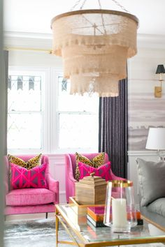 Decor, Hollywood Regency Living Room, Beverly Hills Houses, Hollywood Regency Decor, Pink Velvet Couch, Living Room Carpet, Home Decor, Apartment Decor, Regency Living Room