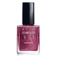 Stardust Nail Enamel creates a wonderful 3D effect on your nails! shop now at www.youravon.com/catherineborunda