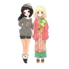 Izumo & Shiemi too cute <3