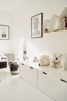 Minimalist Kids Bedroom Ideas To Inspire You Today Scandinavian Kids Rooms, Minimalist Kids, Deco Kids, Kids Room Design, Kid Spaces, Kids Decor, Decor Ideas, Kids House, Girl Room