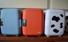 6l refroidisseur sac cosmétiques voiture réfrigérateur vache réfrigérateur de voiture double 220 V 12 V de voiture refroidisseur et plus chaud réfrigérateur de voiture